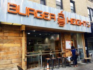 Burger Heights Restaurant